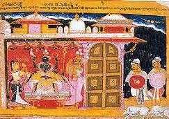 मेवाड़ चित्रकला शैली के चित्र