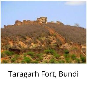 Taragarh Fort Bundi राजस्थान के दुर्ग